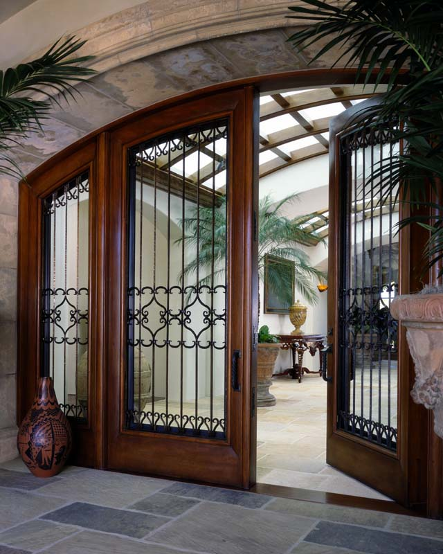 Beautiful front entry doors vintage doors for Double doors exterior for homes